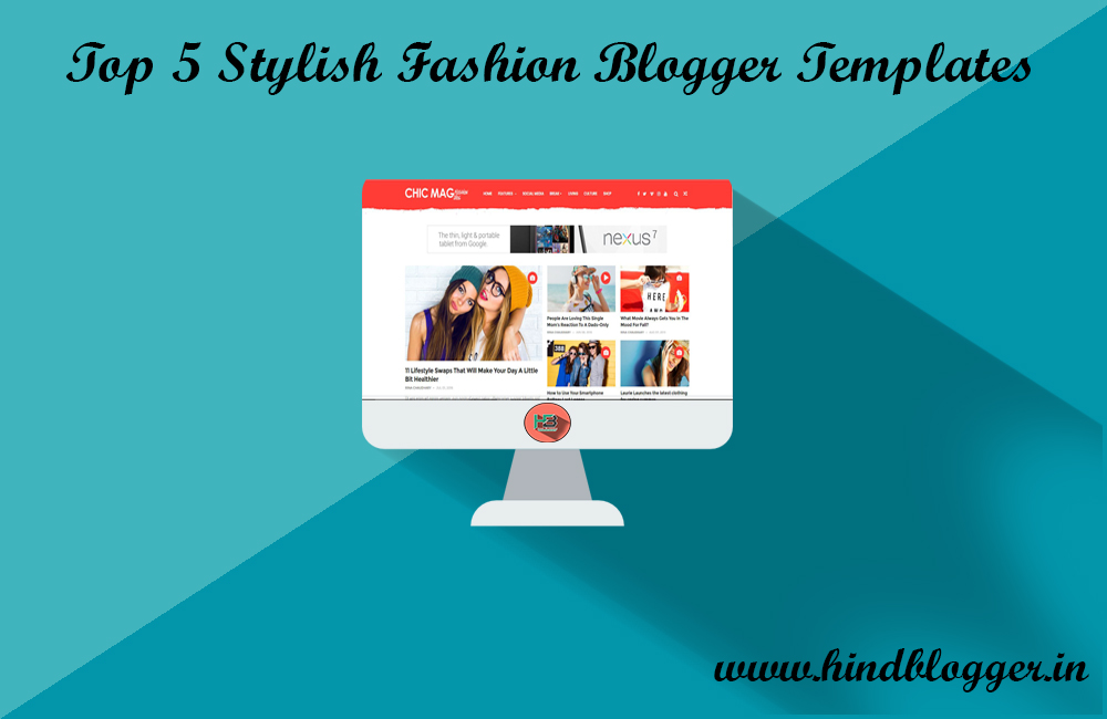 top 5 stylish fashion blogger templates hind blogger